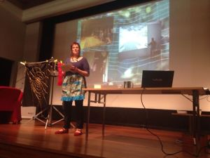Helen Ramoutsaki performative paper at the 2014 CWWA conference.